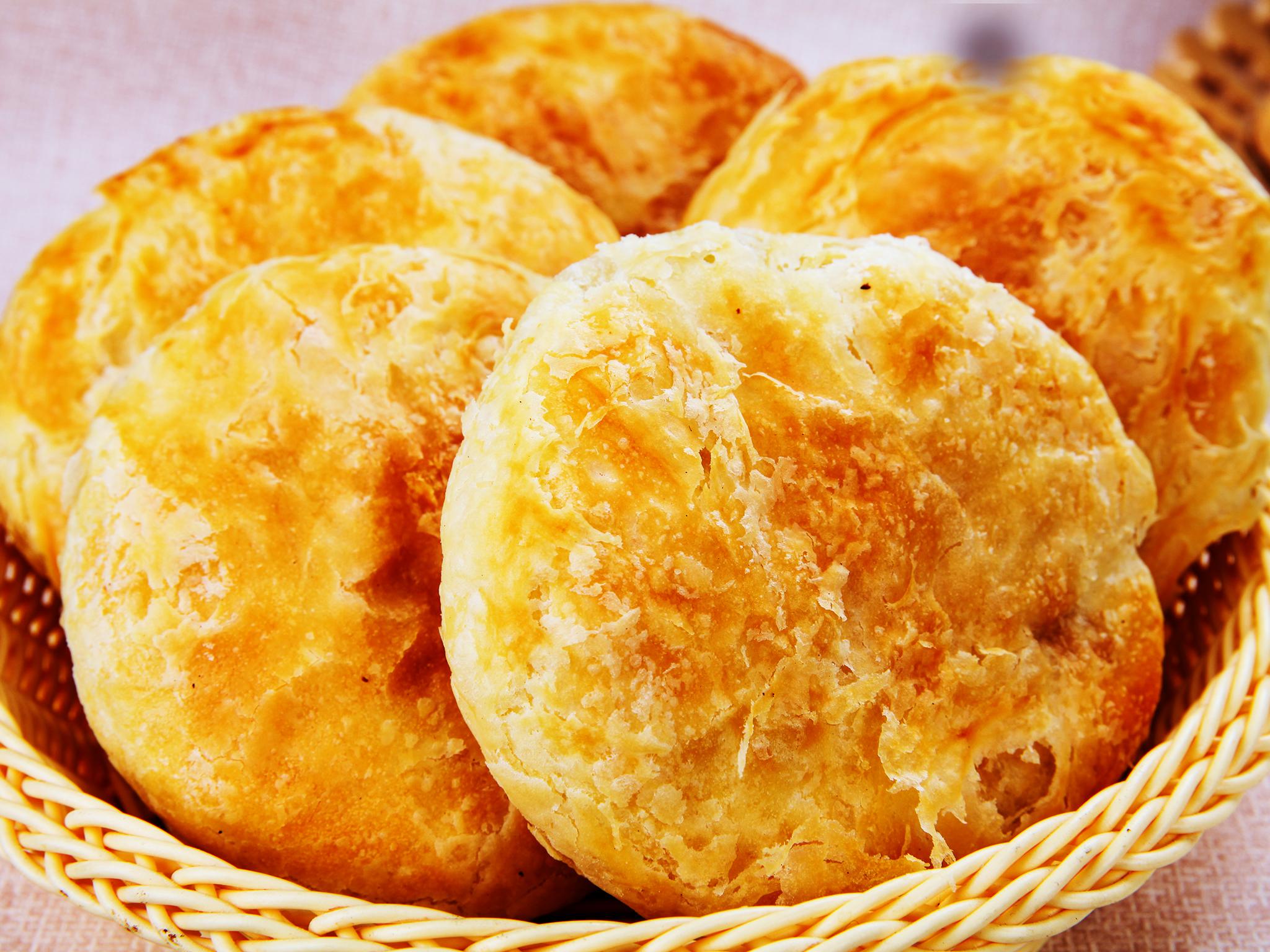 油酥烤饼(财富班)